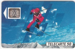 TC130 TÉLÉCARTE 50 UNITÉS - XVIèmes JEUX OLYMPIQUES D'HIVER - ALBERTVILLE 92 - Olympische Spelen
