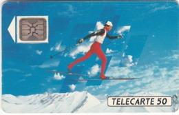 TC131 TÉLÉCARTE 50 UNITÉS - XVIèmes JEUX OLYMPIQUES D'HIVER - ALBERTVILLE 92 - Olympische Spelen