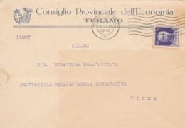 LETTERA 1933 C.50 TIMBRO TERAMO - FIUME (IX1098 - 1900-44 Victor Emmanuel III