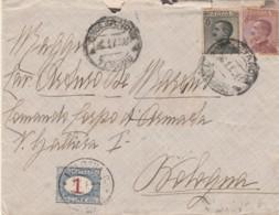 LETTERA 1929 30+20 C+ SEGNATASSE 1 L. - QUALCHE STRAPPO (IX1088 - 1900-44 Vittorio Emanuele III