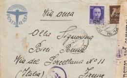 LETTERA 1943 PM 99 50+50 PA SS PM -CENSURA (IX950 - 1900-44 Vittorio Emanuele III