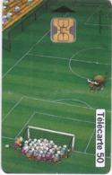 TC136 TÉLÉCARTE 50 UNITÉS - FOOTBALL FRANCE 98 - COLLECTION BD - LE FOOTBALL VU PAR 4 DESSINATEURS - MORDILLO - Sport