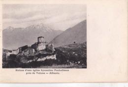 CPA : Valona  (Albanie) Ruine D'une église Byzantine Pachaliman Dos Précurseur   Ed Schwidernch 8511 - Albanië