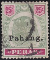 Pahang    .   SG     .   20  (2 Scans)        .      O         .     Cancelled      .   /    .  Gebruikt - Pahang
