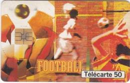 TC144 TÉLÉCARTE 50 UNITÉS - COLLECTION STREET CULTURE - N°6 : FOOTBALL - CULTURE DE LA RUE - Sport