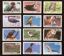 Tonga 2012; Fauna & Animals; Birds; Nice Set; MNH / Neuf** / Postfrisch!! CV 60 Euro!! - Tonga (1970-...)