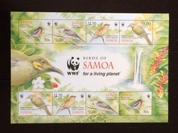 Samoa 2009; WWF Animals & Fauna; Birds; MNH / Neuf** / Postfrisch!! Scarce!! - Samoa