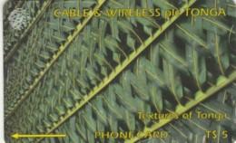PHONE CARDS TONGA (E49.1.2 - Tonga