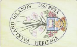 PHONE CARDS FALKLAND (E49.1.8 - Isole Falkland