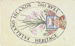 PHONE CARDS FALKLAND (E49.2.2 - Isole Falkland