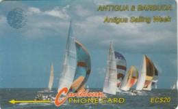 PHONE CARDS ANTIGUA BARBUDA (E49.5.2 - Antigua En Barbuda