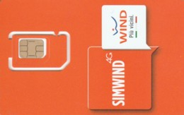GSM WITH CHIP WIND-ITALIA (E49.11.7 - [2] Handy-, Prepaid- Und Aufladkarten