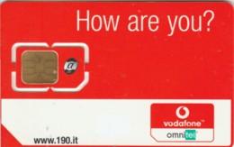 GSM WITH CHIP VODAFONE-ITALIA (E49.13.1 - [2] Handy-, Prepaid- Und Aufladkarten