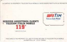 GSM WITH CHIP TIM-ITALIA (E49.13.4 - [2] Handy-, Prepaid- Und Aufladkarten