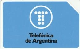 PHONE CARDS ARGENTINA-URMET-NEW (E49.34.2 - Argentinië