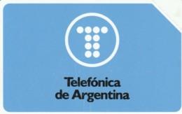 PHONE CARDS ARGENTINA-URMET-NEW (E49.34.3 - Argentinië