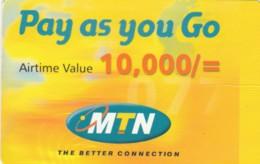 PREPAID PHONE CARD UGANDA (E49.36.8 - Uganda