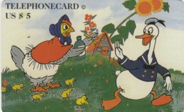 PREPAID PHONE CARD STATI UNITI DISNEY (E49.43.4 - Otros
