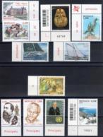 2018 / MONACO 1/2 FACIALE-lot NEUF De 16 Timbres + 3 Blocs / Enveloppe ( Cadeau ) - Lots & Serien