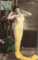 Artiste Femme 1900 - Edith Hané, Robe Fuseau - Cabaret