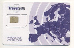 UKRAINE Unused Micro SIM Chip GSM Phone Card TravelSIM Type 2 - Oekraïne