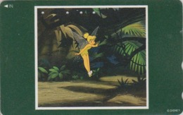 Télécarte Japon / 110-183333 A - DISNEY - FILM Série Cadre - FEE CLOCHETTE - TINKERBELL - Movie Japan Phonecard - Disney