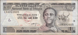 ETIOPIA 1995 - 1 BIRR - USATA - Etiopía