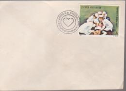 MEDICINE COVERS ROMANIA 1989, WITH SPECIAL POSTAMRK First Day 1989 BUCURESTI - Medicine