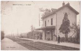 BROYE (71) LA GARE. 1922. - France