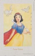 TC Japon / 110-203481 - DISNEY - Série FILM 2/3 - BLANCHE NEIGE - SNOW WHITE & Colombe Dove Bird - Movie Japan Phonecard - Disney