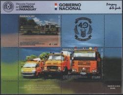 Paraguay 2019 ** 40 Años Fundacion Del Cuerpo De Bomberos Voluntarios. - Paraguay