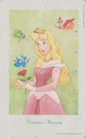 TC Japon / 110-203482 - DISNEY - Série FILM 3/3 - AURORE & FEE - SLEEPING BEAUTY & Fairy  - Movie Japan Phonecard - Disney