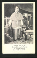 AK Ilustrisimo Senor Dr. Dn. Romulo Betancourt Y Torres, 20. Obispo De Campeche, Gest. 1901 - Christianisme