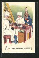 AK Reklame Für Cadbury Schokolade, Elsie`s Fingers Trembled With Excitement - Cultures