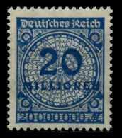 D-REICH INFLA Nr 319AWa Postfrisch Gepr. X6D610A - Ongebruikt