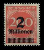 D-REICH INFLA Nr 309APa Postfrisch Gepr. X6D614A - Ongebruikt