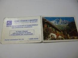 Petit Calendrier  De 1992 (  Pub Caisse D'argentan) - Calendari