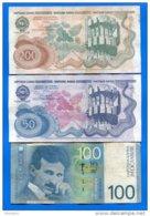 Yougoslavie  10  Billets - Joegoslavië