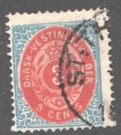 DWI  3 Cents  Sc 6b  Used - Danemark (Antilles)