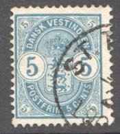 DWI  1900  5 Cents Sc 22 Used - Danemark (Antilles)