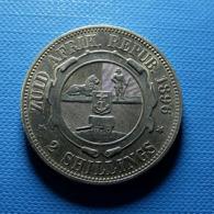 South Africa 2 Shillings 1896 Silver - Südafrika
