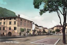 DRO-TRENTO-LA PIAZZA-CARTOLINA VERA FOTOGRAFIA VIAGGIATA IL 22-7-1968 - Trento
