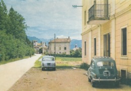 COLLOREDO DI MONTALBANO-UDINE-VIA IPPOLITO NIEVO-AUTO CAR VOITURES-CARTOLINA VERA FOTOGRAFIA NON VIAGGIATA - Udine