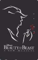 Télécarte Japon / 110-170539 - DISNEY - FILM BEAUTY & THE BEAST ** A NEW MUSICAL ** - Movie Japan Phonecard - Disney