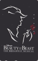 Télécarte Japon / 110-173139 A - DISNEY - FILM BEAUTY & THE BEAST ** BROADWAY MUSICAL ** - Movie Japan Phonecard - Disney