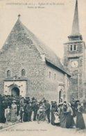 Savennières (49 Maine Et Loire) église - Sortie De La Messe - édit ML 205 - Other Municipalities