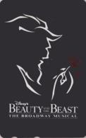 TC NEUVE Japon / 110-173139 C - DISNEY - FILM BEAUTY & THE BEAST ** BROADWAY MUSICAL **-  Movie Japan MINT Phonecard - Disney