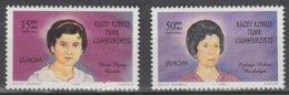 Turquie Adm. Chypre Europa 1996 N° 392/ 393 ** Femmes Celebres - Europa-CEPT