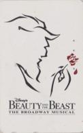 Télécarte Japon / 110-174266 B - DISNEY - FILM BEAUTY & THE BEAST ** BROADWAY MUSICAL ** - Movie Japan Phonecard - Disney