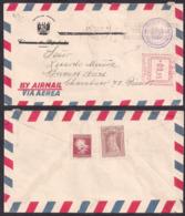 Peru - 1957 - Lettre - Chambre Des Députés Du Pérou Envoyée En Argentine - Perú